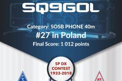 SP DX 2018