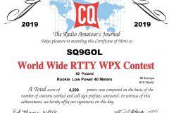 SQ9GOL_WPXRTTY_2019_RTTY_certificate