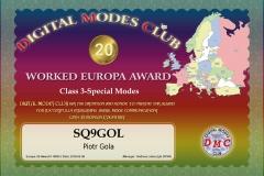 Europa-20-10005-SQ9GOL