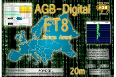 SQ9GOL-FT8_EUROPE-20M_AGB
