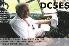 DC5ES_20180316_1050_30M_FT8