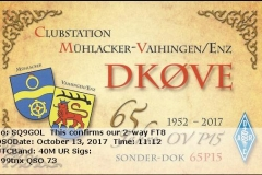 DK0VE_20171013_1112_40M_FT8