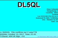 DL5QL_20171012_2145_40M_FT8