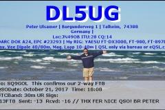 DL5UG_20171021_1808_30m_FT8
