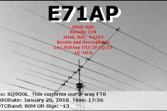 E71AP_20180120_1756_80M_FT8