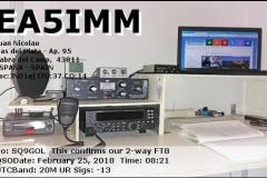 EA5IMM_20180225_0821_20M_FT8