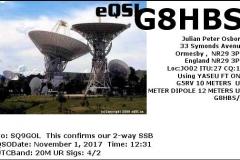 G8HBS_20171101_1231_20M_SSB