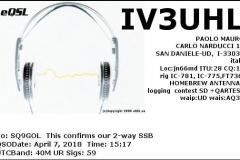 IV3UHL_20180407_1517_40M_SSB